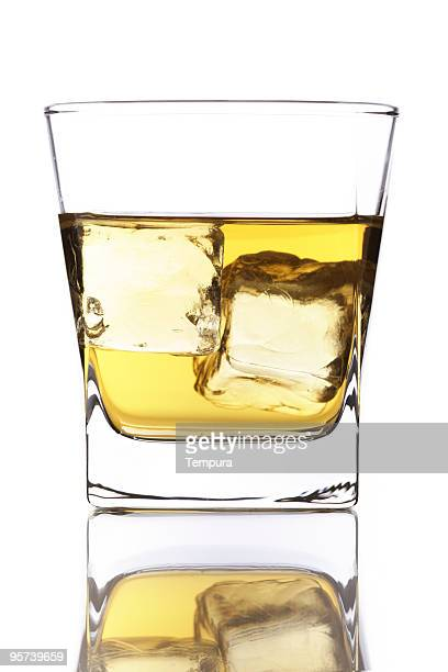 whisky on the rocks - champagne colored stock pictures, royalty-free photos & images