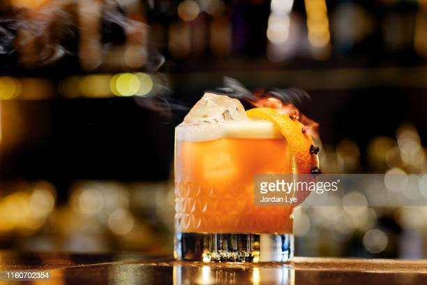 whisky sour - cocktail stock pictures, royalty-free photos & images