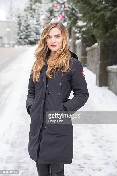 Whistler Film Festival Rising Star actress Sara Canning attends the Whistler Film Festiavl on December 5 2014 in Whistler Canada