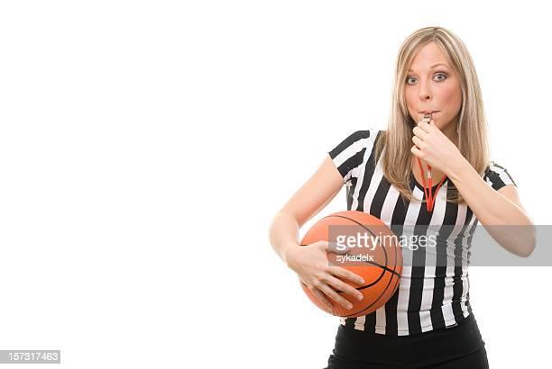 Fischiare Arbitro di pallacanestro