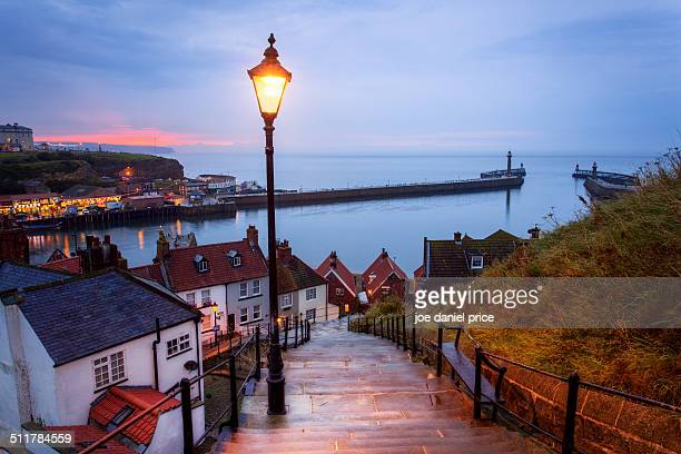 Whitby, 99 steps, Yorkshire, England