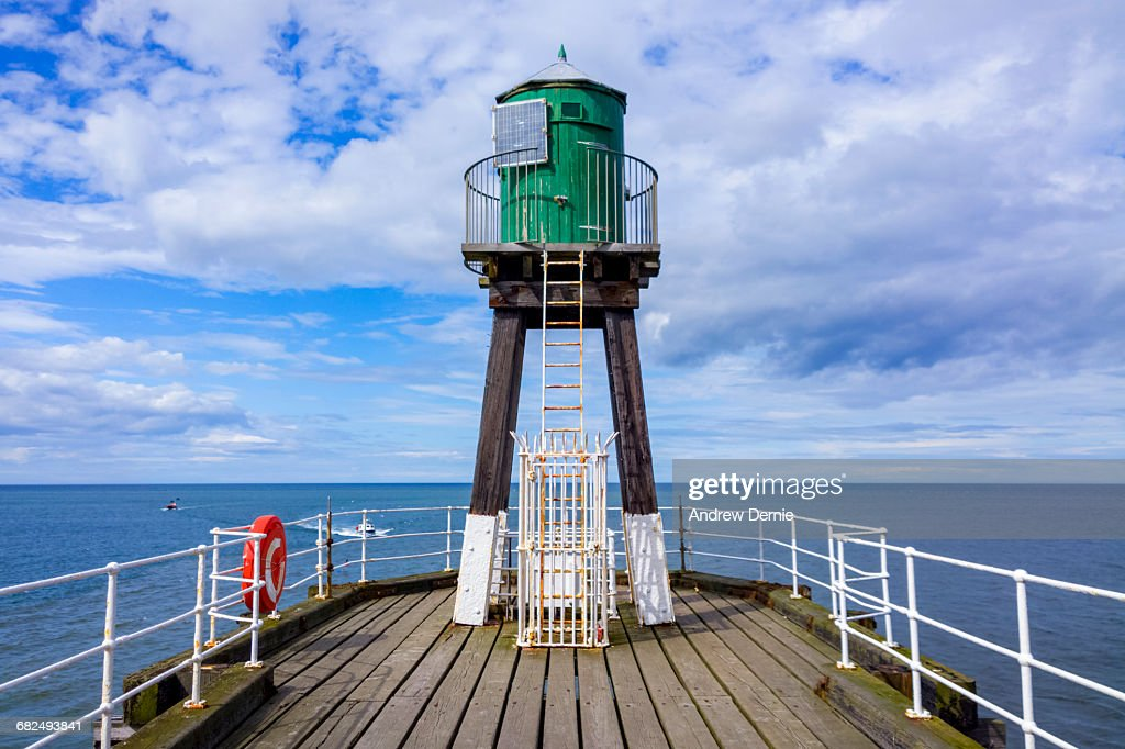 Whitby Pier : Stock Photo