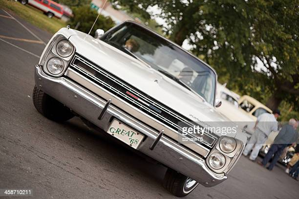 white 1968 plymouth sport fury - bedford nova scotia stock pictures, royalty-free photos & images