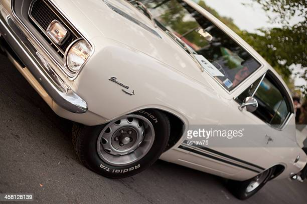 White 1969 Plymouth Barracuda