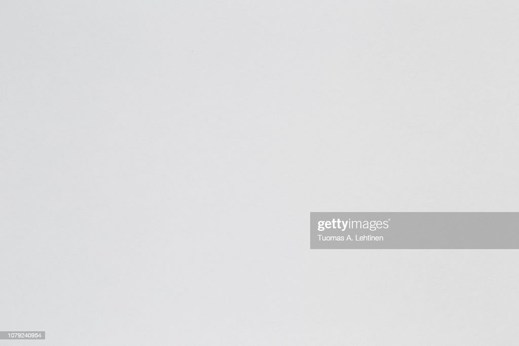 White and blank watercolor paper sheet or aquarelle pad with subtle texture. : Stock Photo