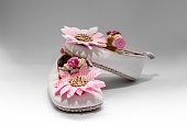 http://www.istockphoto.com/photo/white-baby-booties-with-pink-flowers-gm872590590-243726133