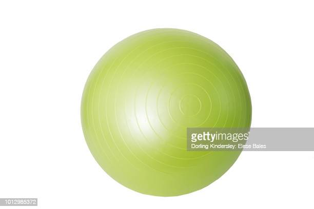 white background, equipment, stability ball - medicine ball stock pictures, royalty-free photos & images
