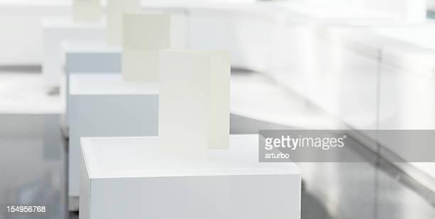 white bar menues