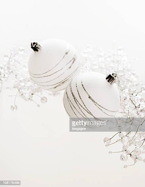 White Baubles and Ornement