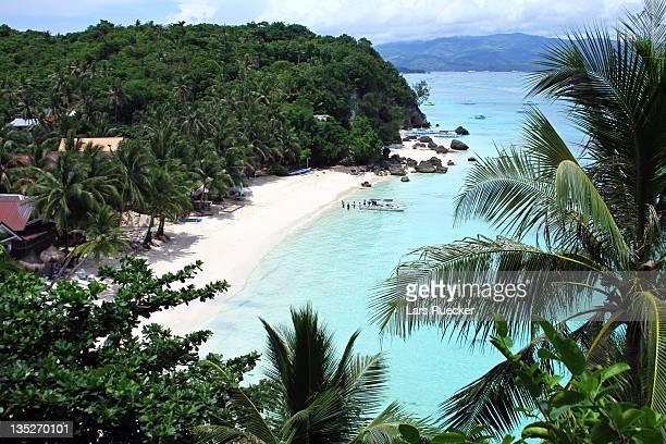 White beach at Paradise, Philippines