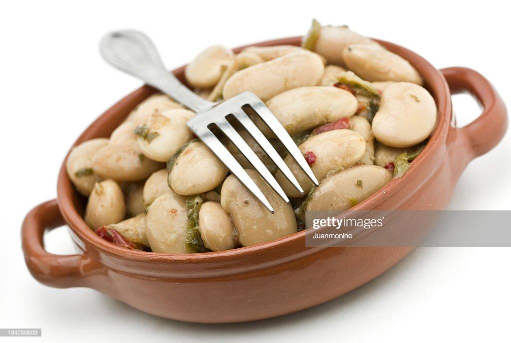 White beans salad : Stock Photo