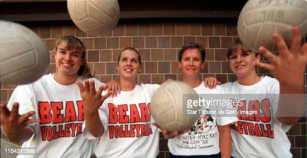 White Bear Lake Friday Sept 17 1999 Rittenhouse family involved with volleyball Volley balls are just one of the elements juggled in the Rittenhouse...