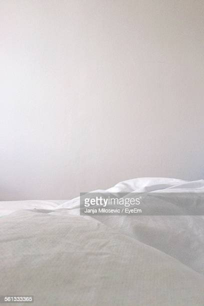 White Bed Sheet In Bedroom
