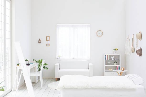 White Bedroom Wall Art