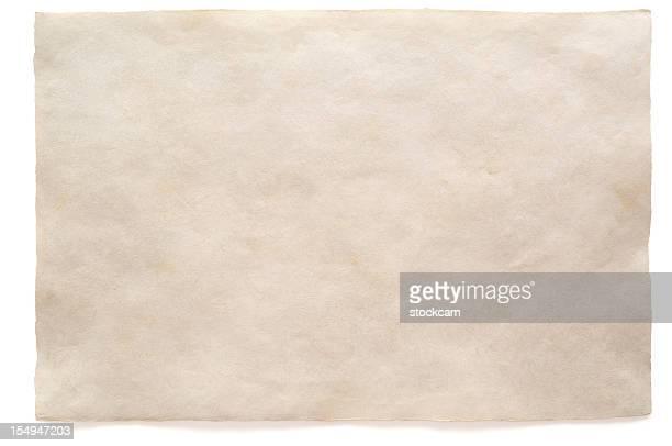 Weiße leere Wasserfarben auf Papier