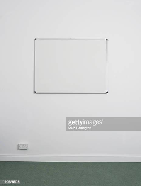 White Board Hanging On Office Wall