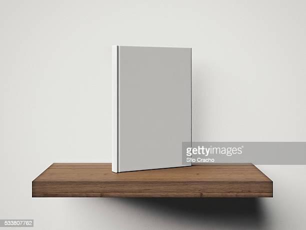 White book on a shelf