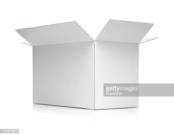 white box - cardboard box stock pictures, royalty-free photos & images