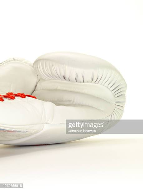 white boxing glove - lace glove stock pictures, royalty-free photos & images