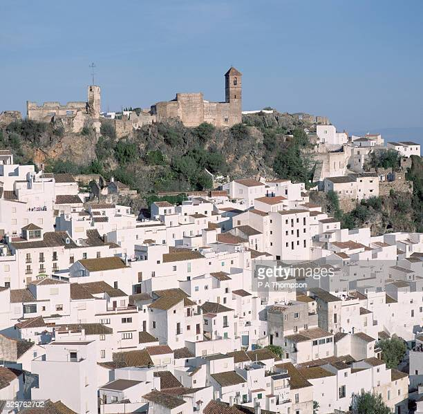 White Box-like Houses of Casares, Andalusia