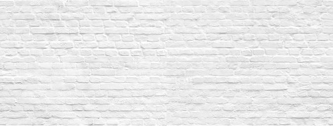 White brick wall background seamless pattern 1140979659