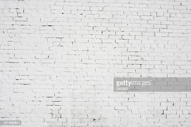 White Brick Wall background wallpaper Pattern