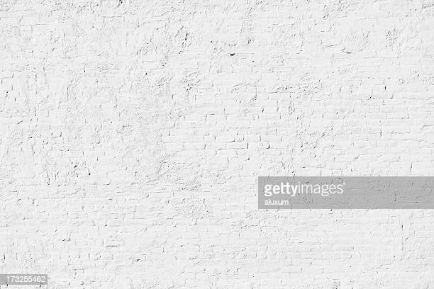 white brick wall - brick stock pictures, royalty-free photos & images
