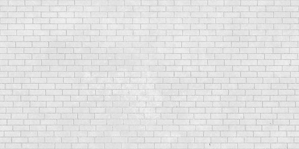 White brick wall seamless texture 926993414