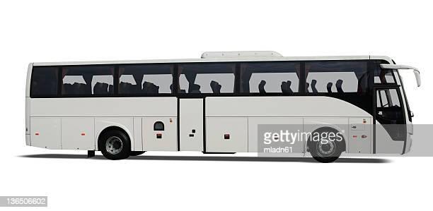 Weißen Bus