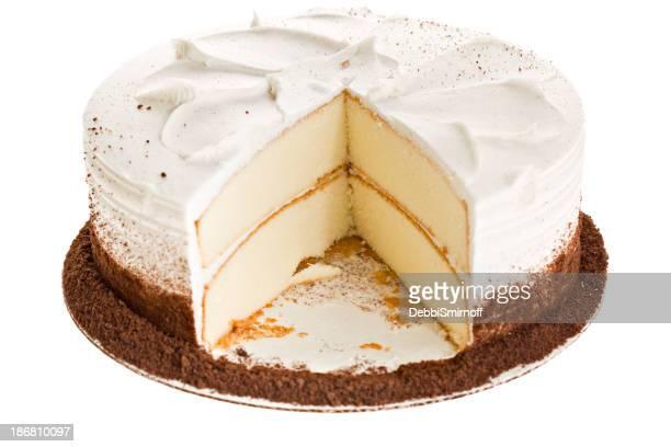 White Cake Slice Missing