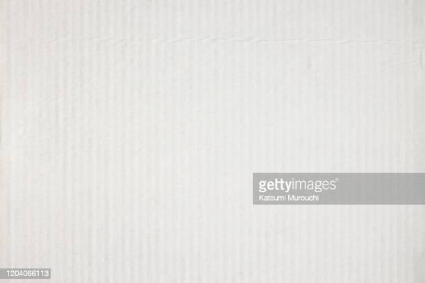 white cardboard texture background - ボール紙 ストックフォトと画像