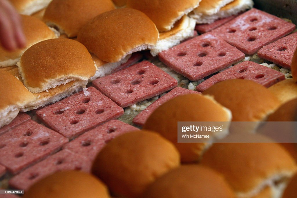 White Castle Burgers Cooking