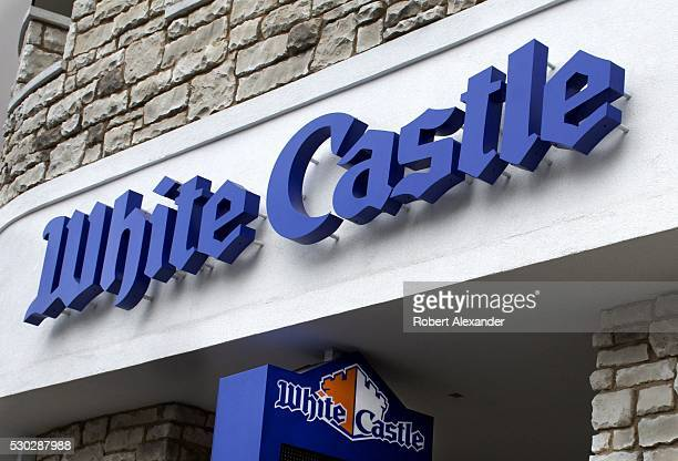 White Castle fast food hamburger restaurant on the Las Vegas Strip in Las Vegas Nevada on March 28 2016 White Castle is generally credited as the...