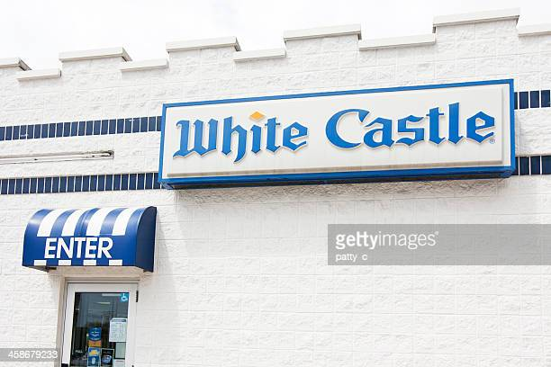 white castle restaurant - chateau stock pictures, royalty-free photos & images