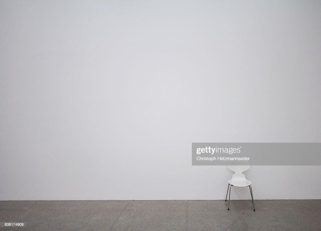 White chair : Stock-Foto