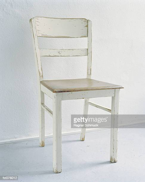 a white chair - chair stock pictures, royalty-free photos & images