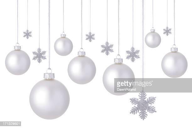 White Christmas Balls!
