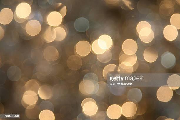 branco luzes de natal brilhante borrada na diária - pontilhado - fotografias e filmes do acervo