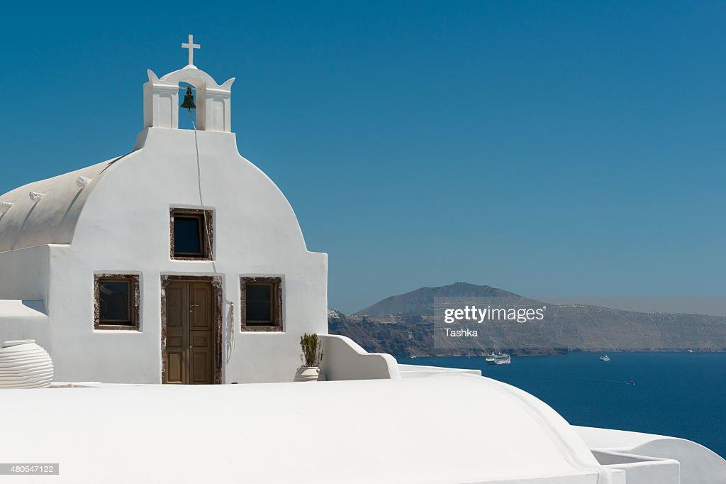 Igreja branca : Foto de stock