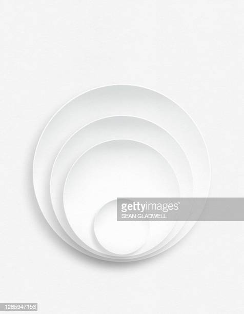 white circles - white stock pictures, royalty-free photos & images