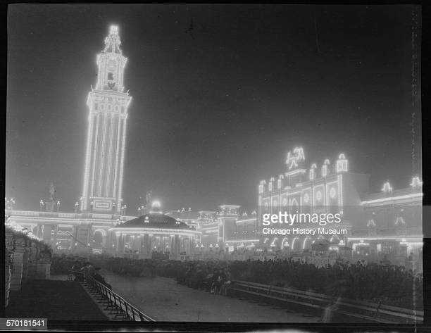 White City amusement park, Chicago, Illinois, 1905-1906.