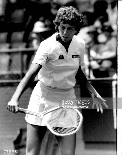 White City NSW Open Semi finalsJo Durie GB November 26 1983