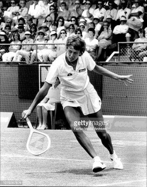 White City NSW Open SemifinalsJo Durie GB November 26 1983