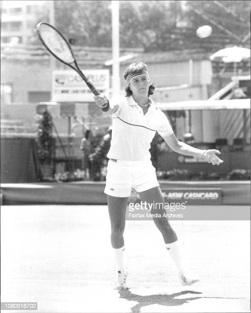 White City tennis Women's NSW Open Leslie Allen USA vs Anne Smith USA November 24 1982