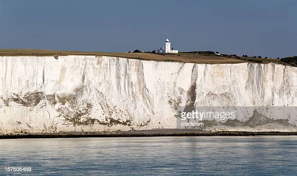 White Cliffs of Dover in Kent England