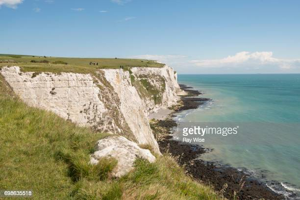 White Cliffs of Dover, Kent, England.