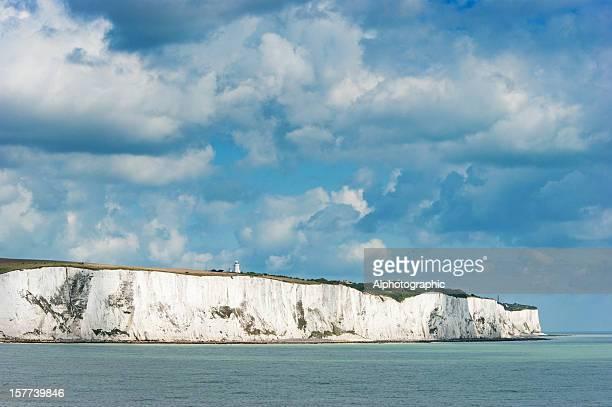 ドーバーの白い崖 - 炭酸石灰 ストックフォトと画像