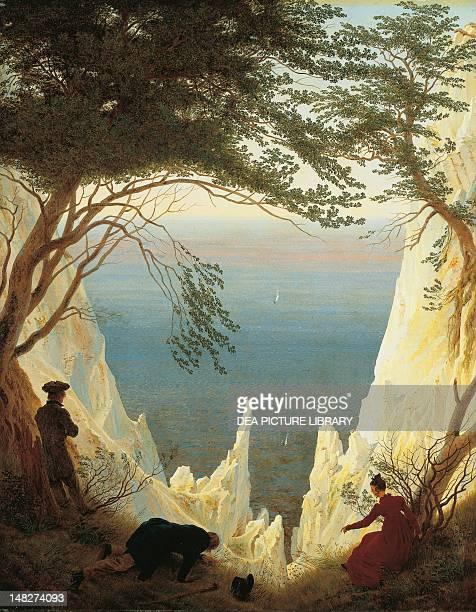 White Cliffs of Ruegen, by Caspar David Friedrich . ; Winterthur, Museum Oskar Reinhart Am Stadtgarten .