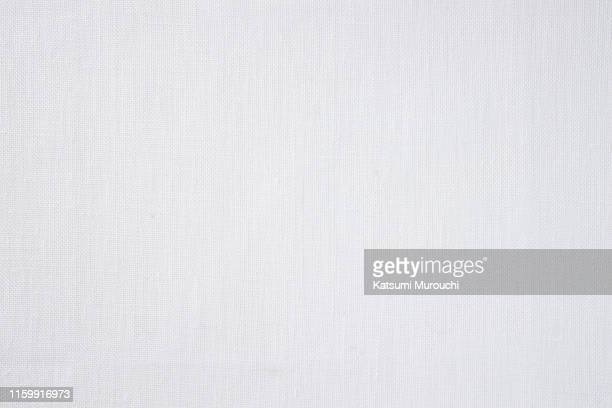 white cloth texture background - material têxtil - fotografias e filmes do acervo
