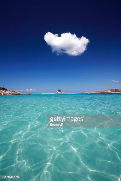 blanco nube - cerdeña fotografías e imágenes de stock